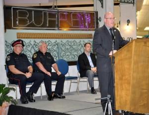 Steve Clark at Police Week Ceremony