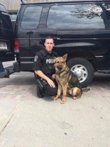 Police Service Dog - K9 Diesel